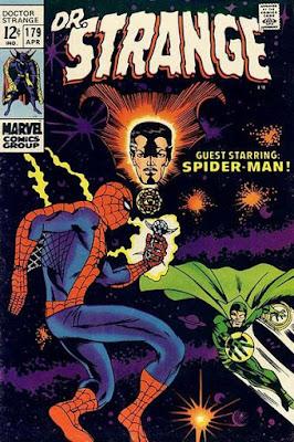 Dr Strange #179, Spider-Man