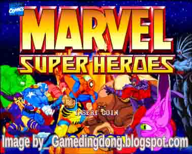 games ding dong marvel Super Heroes