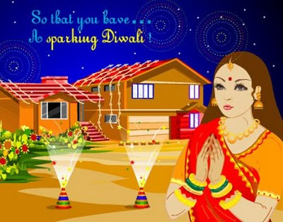 Diwali Drawing