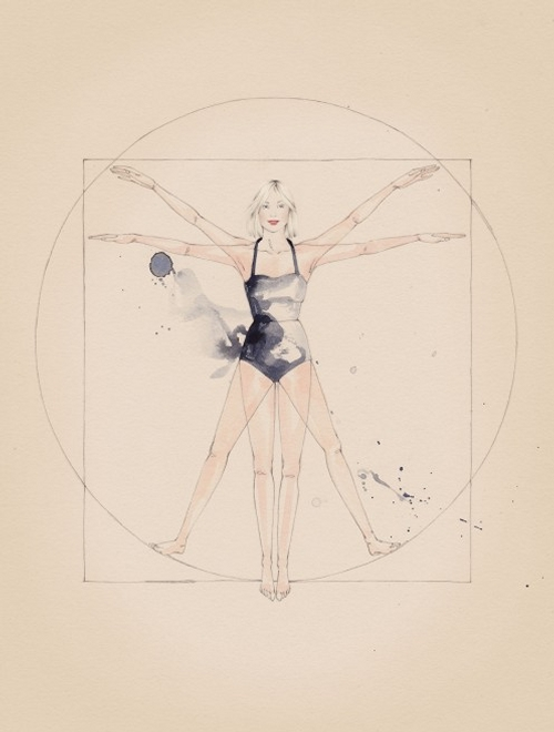 25-Madison-Vitruvian-Woman-Emma-Leonard-Varying-degrees-of-Detail-in-Paintings-with-expressions-www-designstack-co