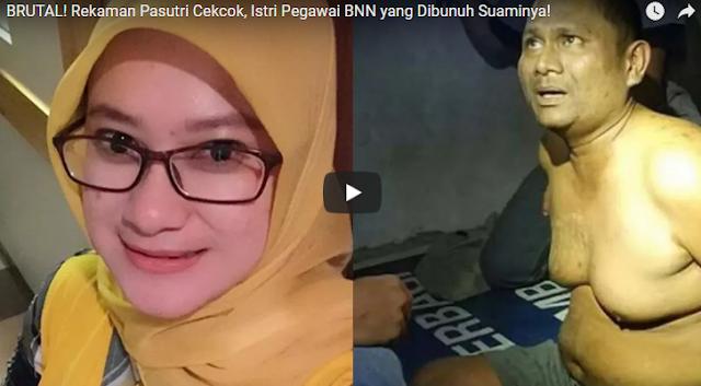Sering Gonta-ganti Mobil dan Punya Pistol, Ini Pekerjaan Suami yang Membunuh Istri Cantik di Bogor