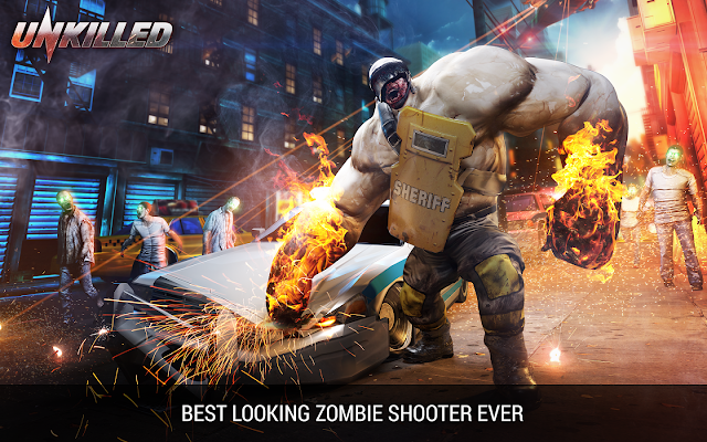 Unkilled – Zombie FPS Shooting Game