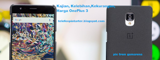 Kajian, Harga OnePlus 3
