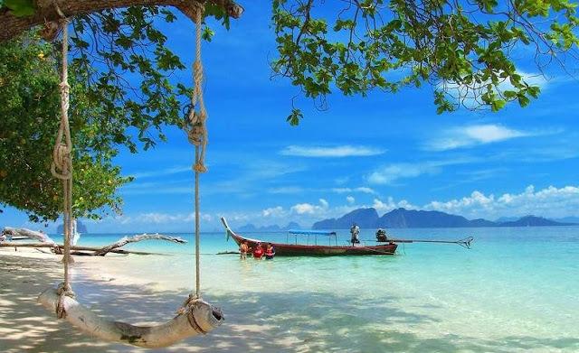 Koh Nge, una de las Islas de Krabi