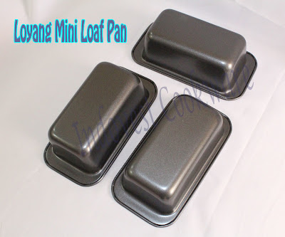 jual Loyang Mini Loaf Pan Teflon murah