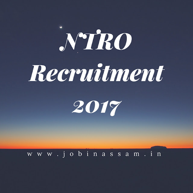National Technical Research Organisation  Job Recruitment, Technical Assistant - 2017