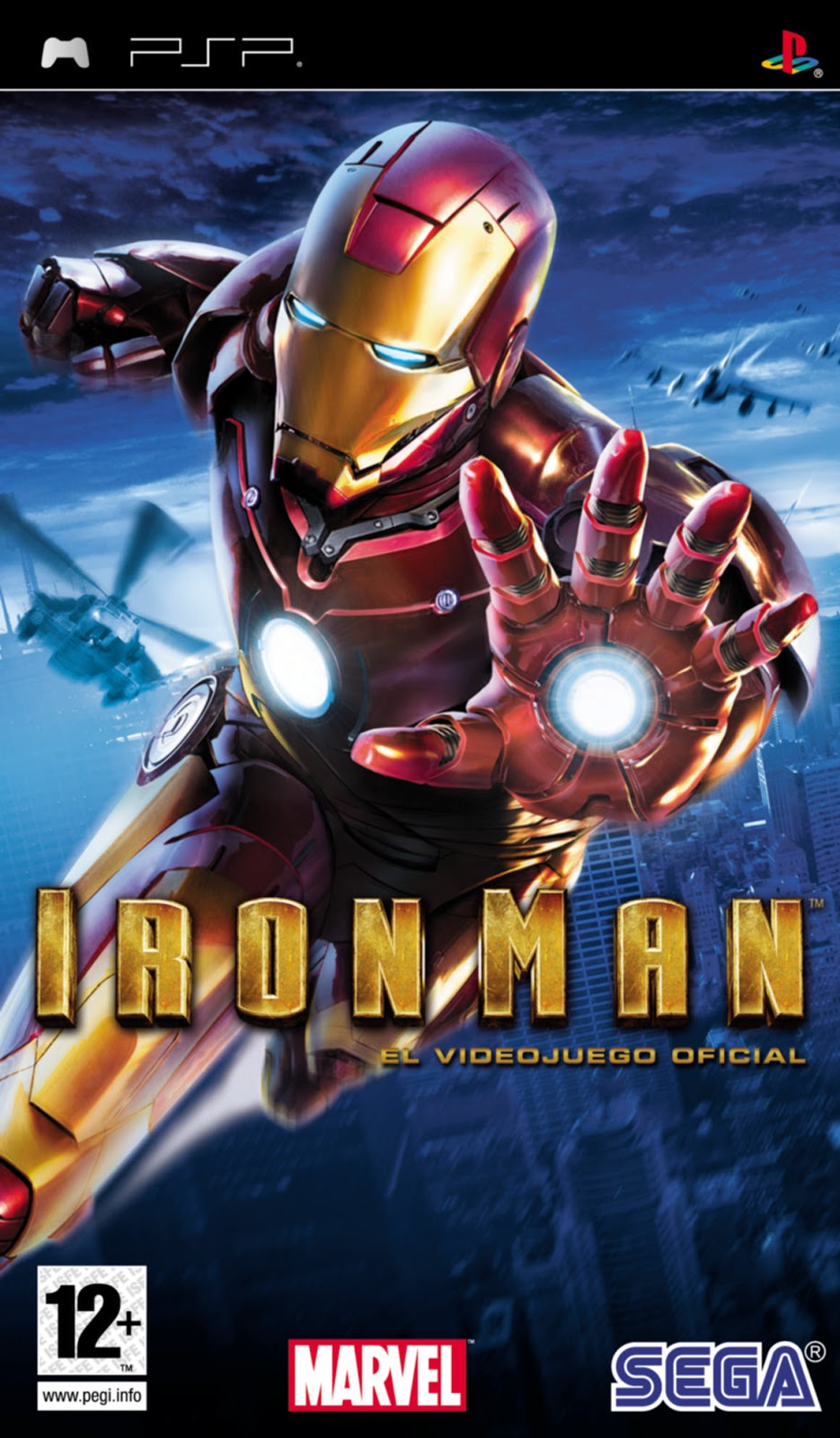 Iron Man PSP ISOMEGAMULTI. ESPAÑOL