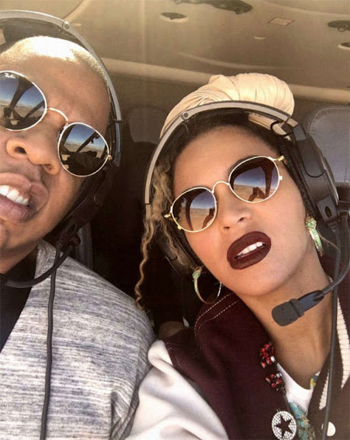 Jay z and Beyonce On air plan