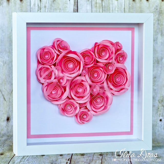 SVGCuts files,Gift,Roses,etched picture frame,#SVGCuts,Silhouette Cameo,Mother's Day Shadow Box,ilovedoingallthingscrafty,