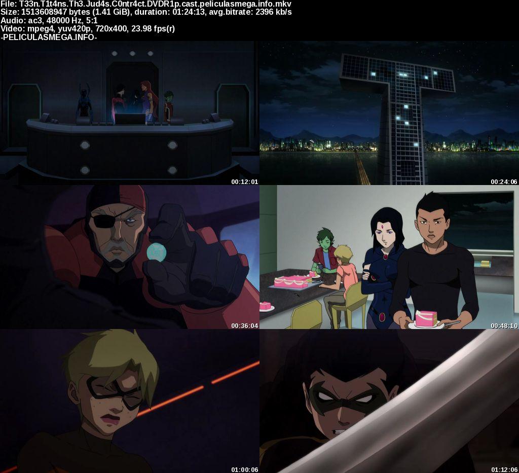 Descargar Teen Titans: El contrato de Judas Castellano por MEGA.