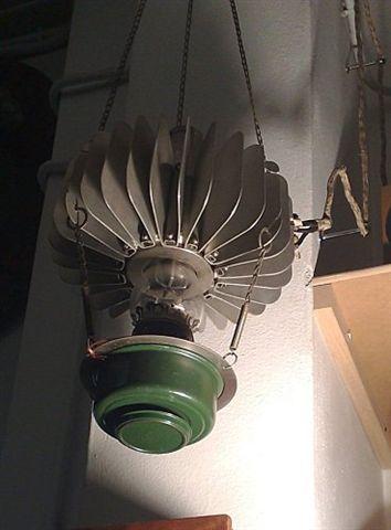 Lampada termoelettrica a kerosene