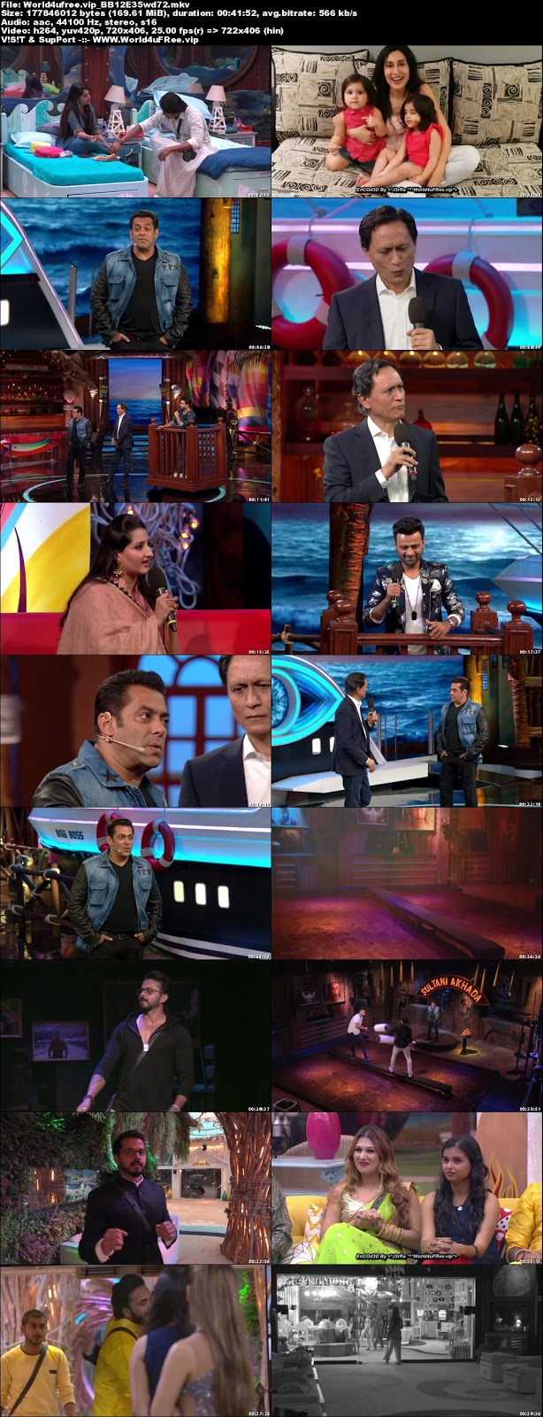 Bigg Boss 12 Episode 35 21 October 2018 720p WEBRip 350mb x264 world4ufree.vip tv show Episode 35 21 October 2018 world4ufree.vip 300mb 250mb 300mb compressed small size free download or watch online at world4ufree.vip