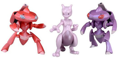 Pokeon Figure Super MC Movie 16th set Tomy