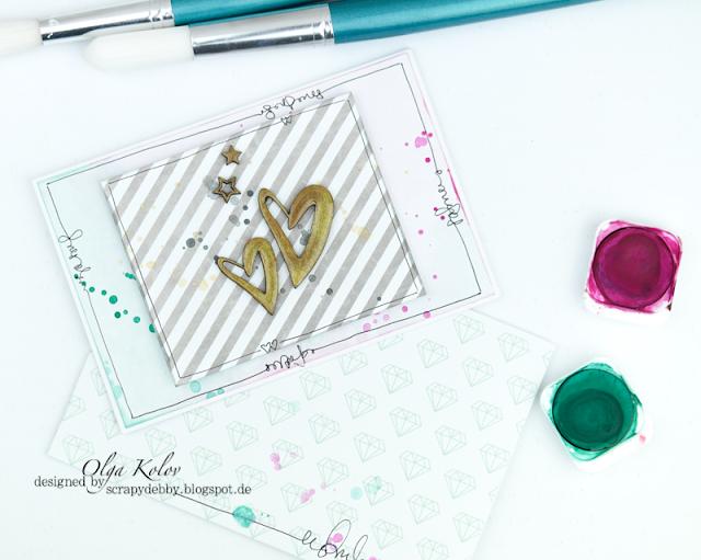 @olgakolov #cardmaking #giftenvelope #karaliki #supergirl #chipboard