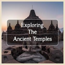 Exploring Ancient Temple Yogyakarta