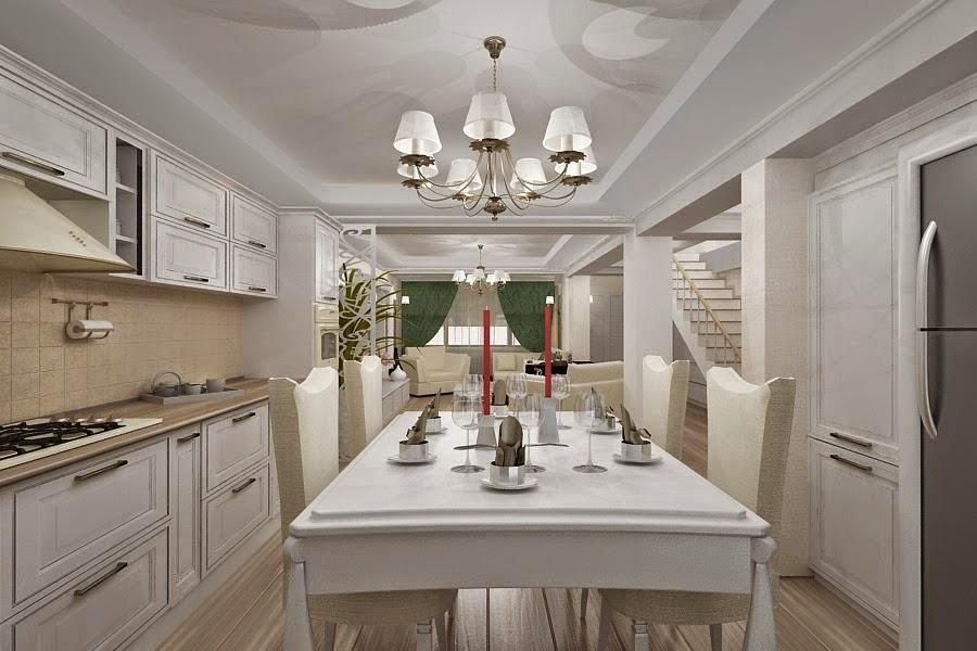 Design interior casa open space stil clasic Bucuresti - Design Interior / Amenajari Interioare | Design interior casa de lux