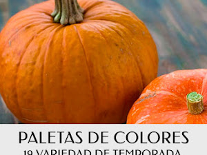 Paletas De Colores 19 Variedad De Temporada