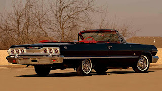 1963 Chevrolet Impala SS Convertible Rear