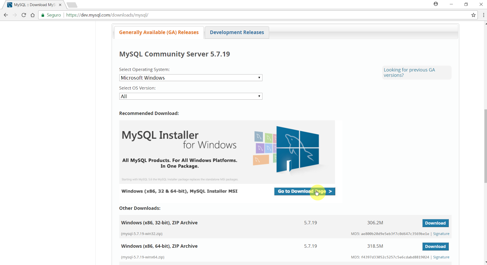 TÉLÉCHARGER MYSQL WORKBENCH 6.3.10