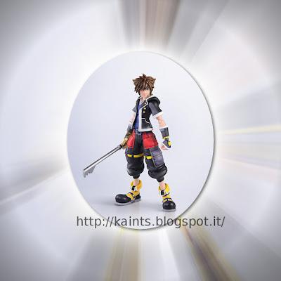 Tratto da Kingdom Hearts III ci viene proposto Sora nella sua seconda forma