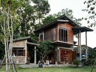 แบบบ้านครึ่งไม้ครึ่งปูน