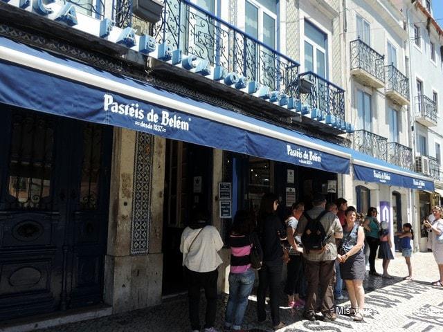 Confitería Pastéis Belém, Lisboa