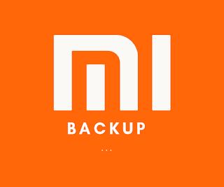 xiomi backup restore