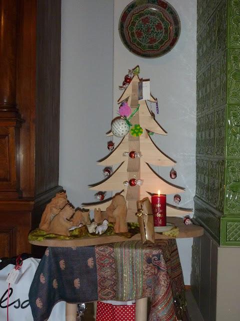 Christbaum mal anders Weihnachten Deko