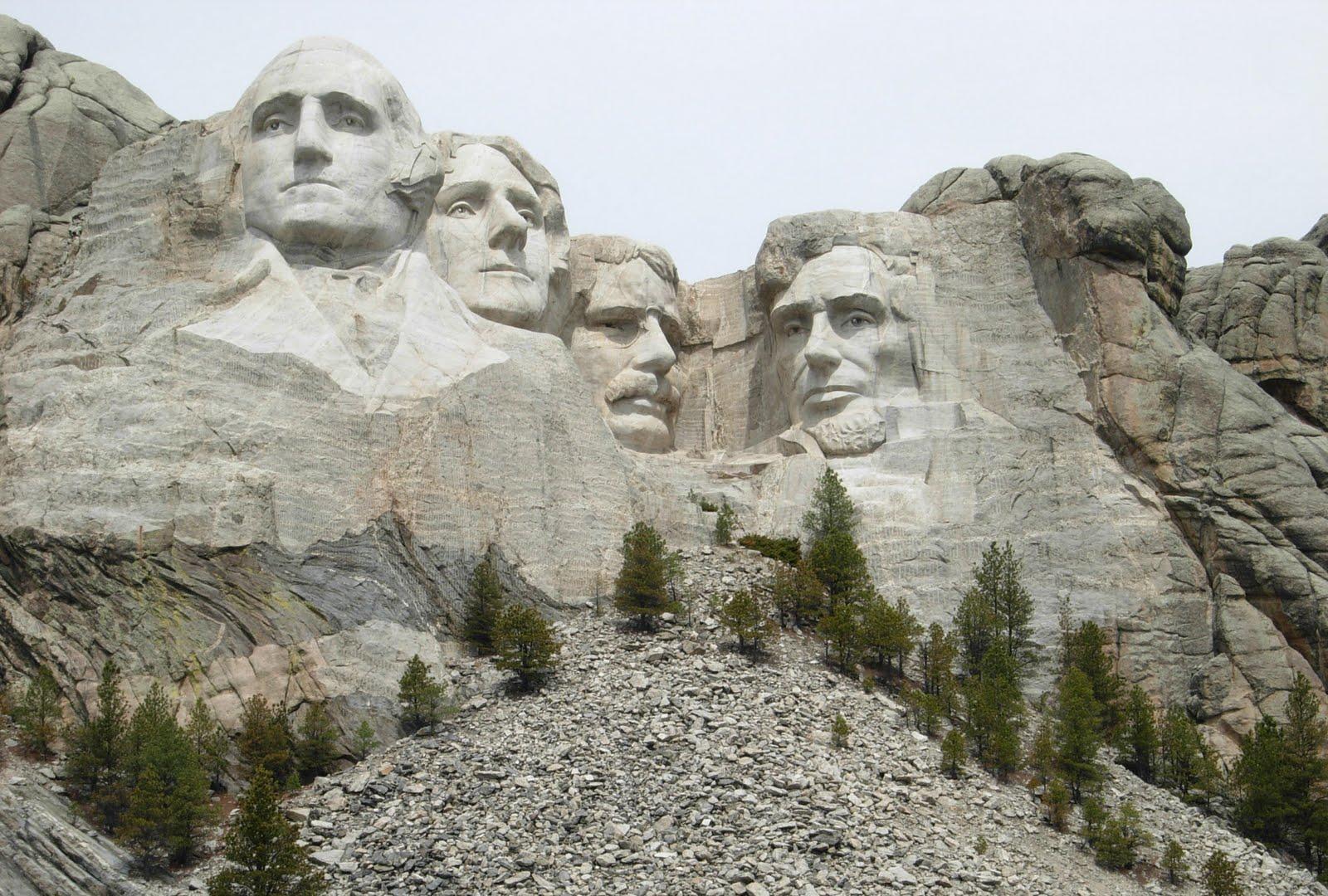 Presidents South Faces Dakota