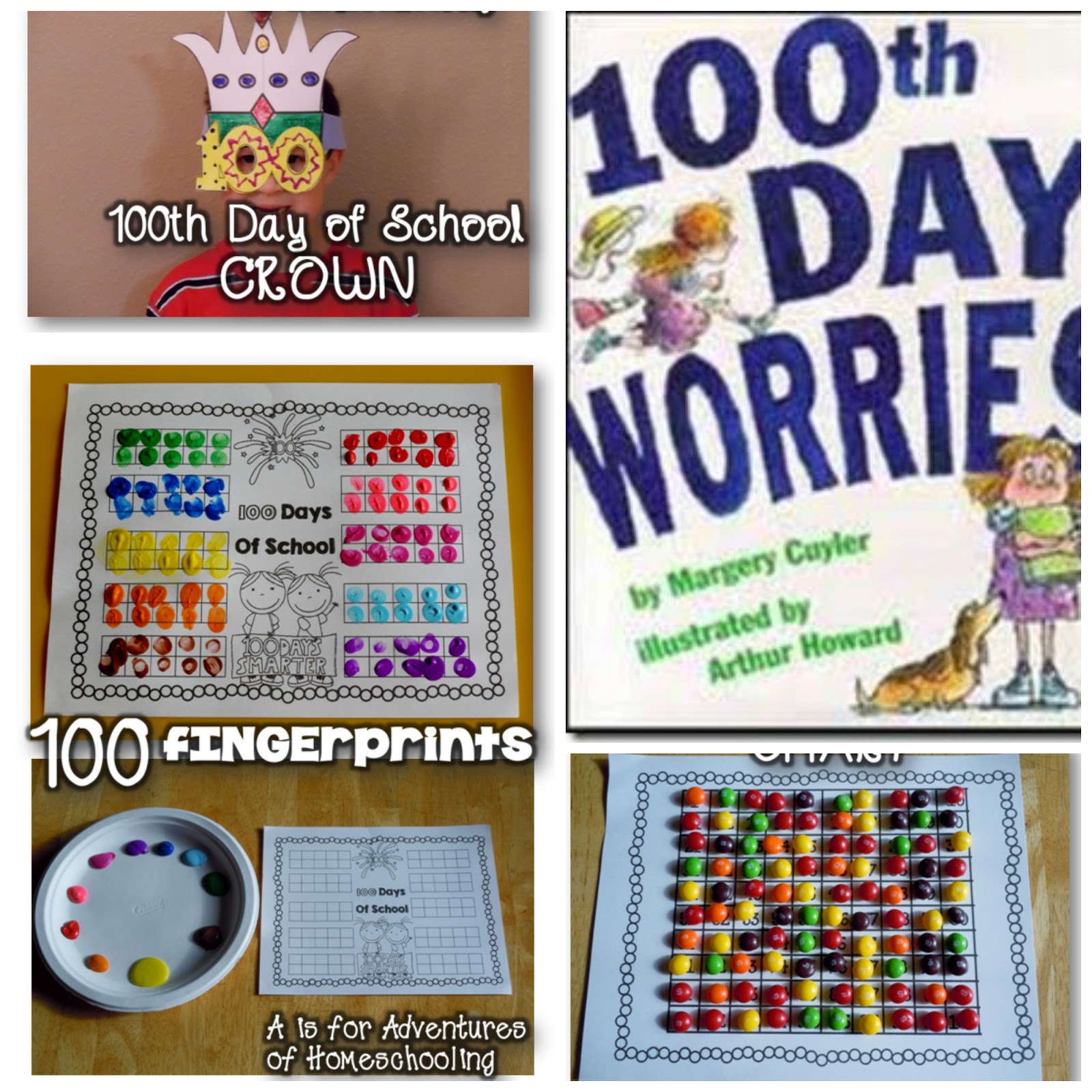 Hip Hip Hooray For The 100th Day
