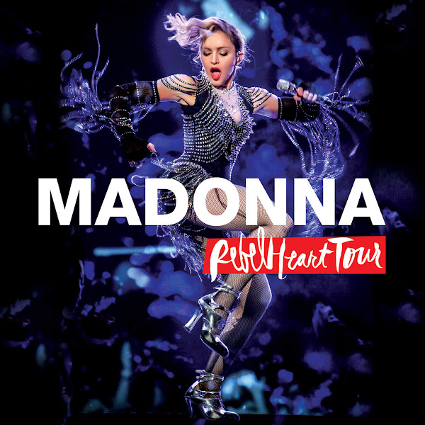 Madonna - Living For Love (Live) - Single Cover