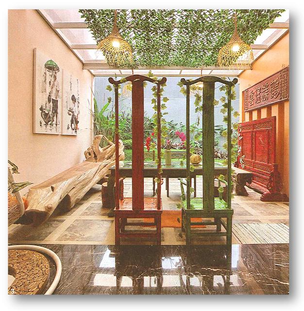 Ruang Santai Rumah Ade Rai