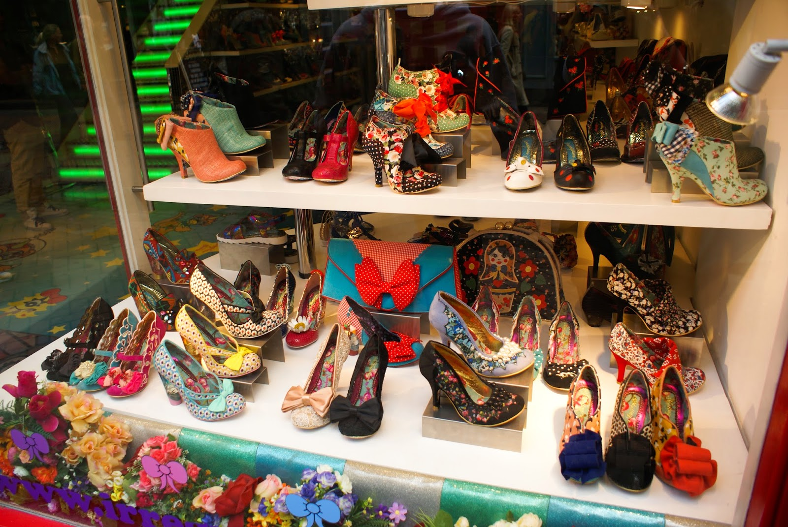 carnaby street irregular choice soho london uk england britain