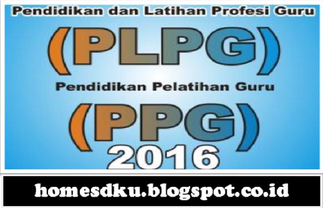 Cara Mendaftar Menjadi Peserta PLPG Tahun 2016/2017