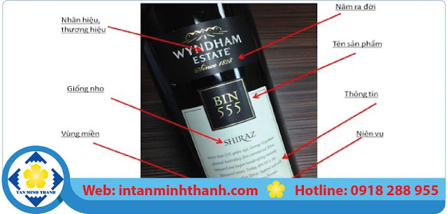 công ty in nhãn rượu
