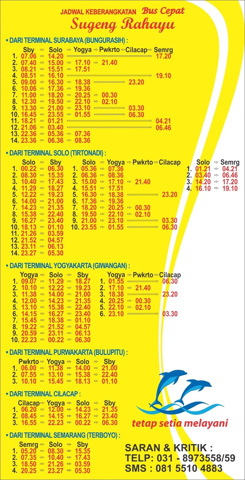 jadwal bus surabaya semarang atau semarang surabaya rh rahmancyber net jadwal bus semarang solo 24 jam jadwal bus semarang solo terbaru 2017