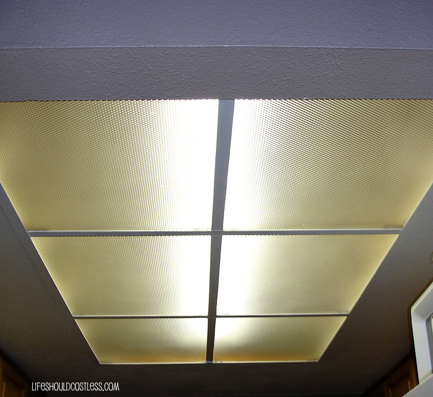 How To Clean Those Nasty Ceiling Light Covers/paneling In