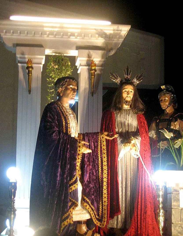 O julgamento mais iníquo da História teria se dado na parte do Palácio de Herodes ocupado pelo governador romano