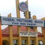 Federal Polytechnic Nekede Notice to National Diploma and Higher National Diploma Morning Students