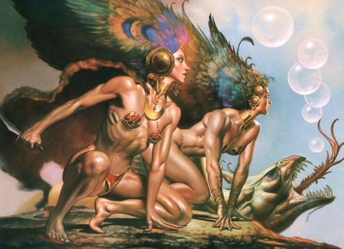 Boris Vallejo 1941 | Peruvian-born American Fantasy painter