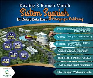 rumah syariah parahyangan padalarang bandung