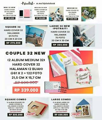 Cetak Foto di Idphotobook, Proses Paling Gampang Hasil Memuaskan price list cetak album foto