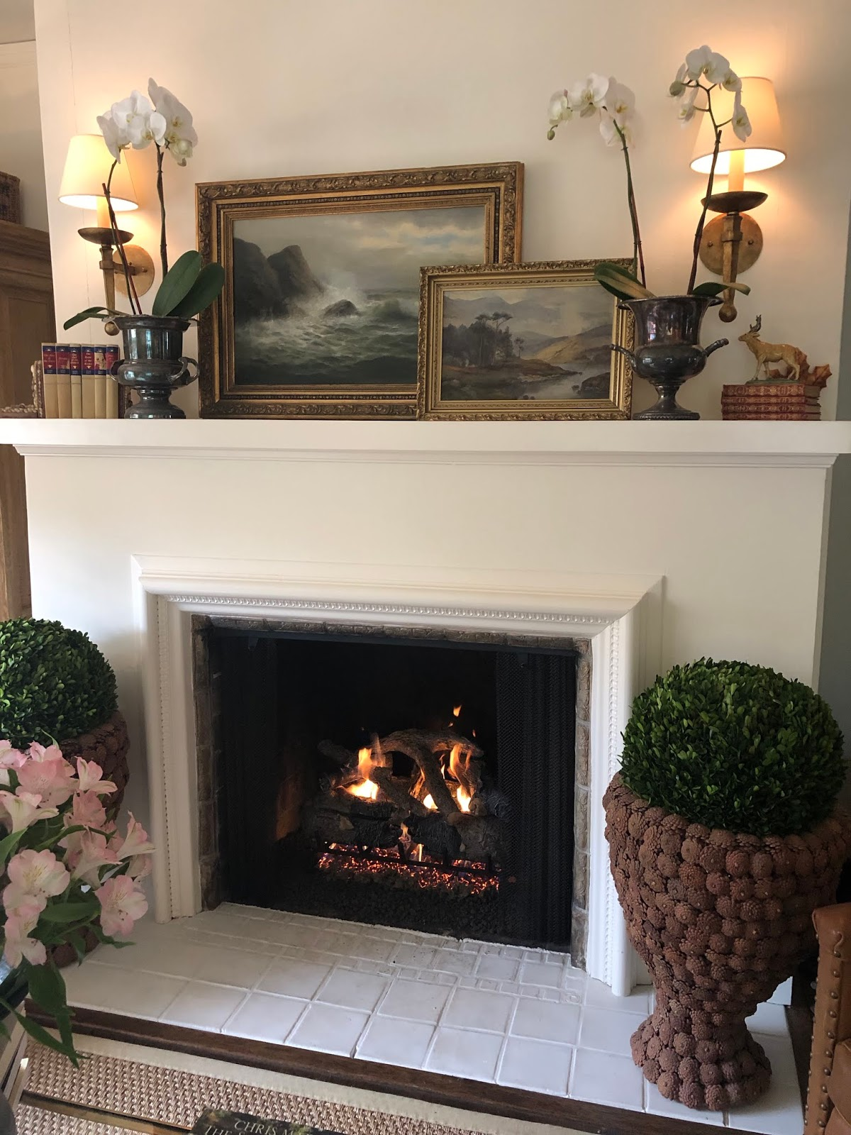 Convert Fireplace To Gas Burning Vignette Design Converting From Wood To Gas Fireplace
