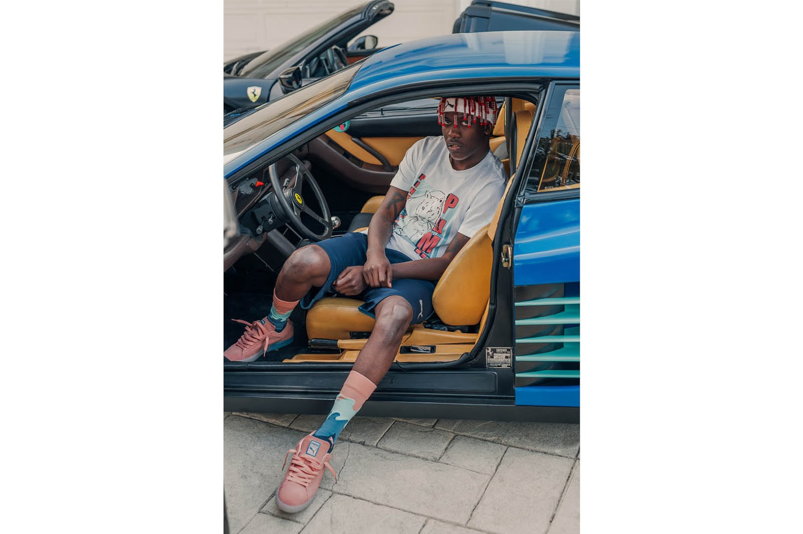 8607b4a200e2ce PUMA x Pink Dolphin Suede Classic Lookbook feat. Lil Yachty (Video ...