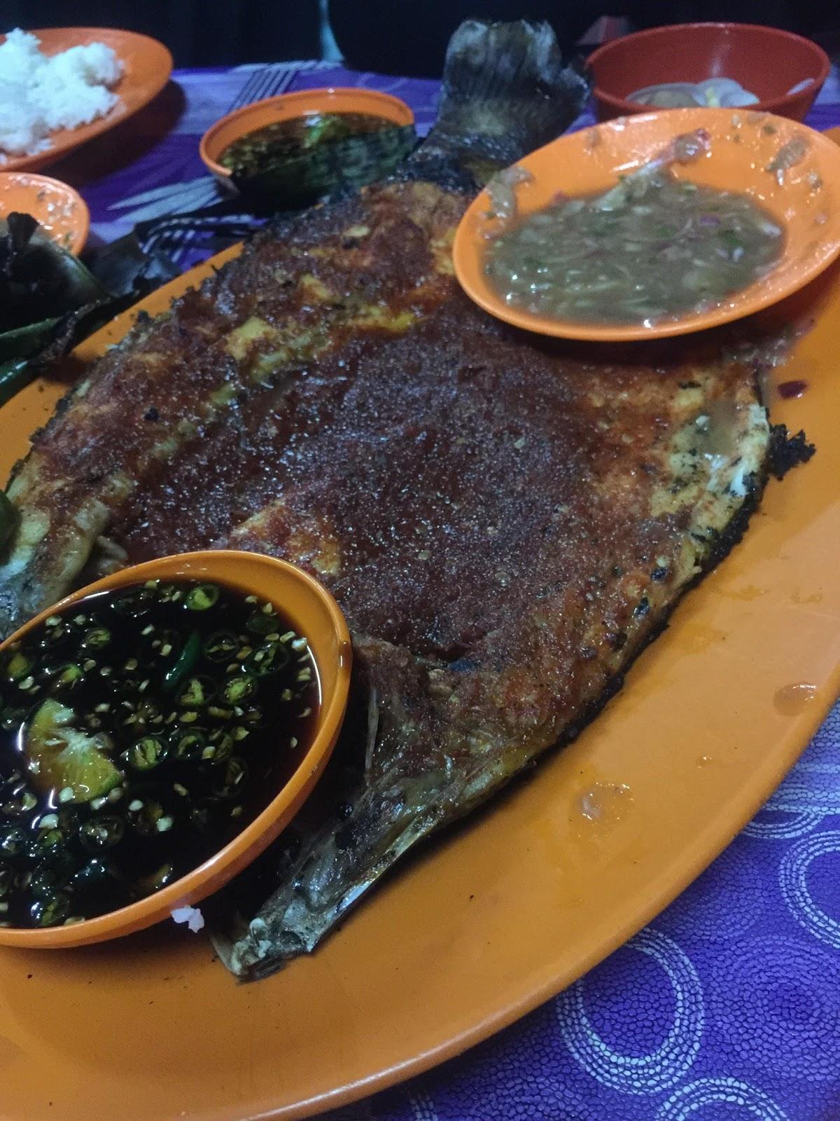 ikan bakar sedap, tempat makan menarik di pulau pinang, teluk tempoyak