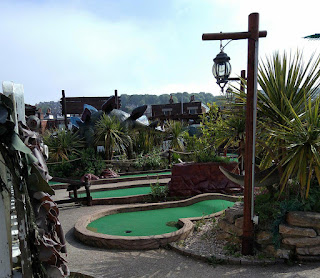 The Adventure Golf course in Swanage. Photo by Tiger Pragnell, May 2018