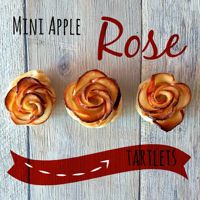 Mini Apple Rose Tartlets
