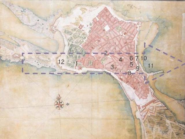 Tornado de Cádiz en 1671.