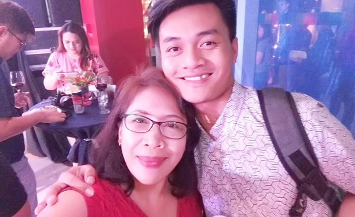 With Sunstar Davao's Ace Perez