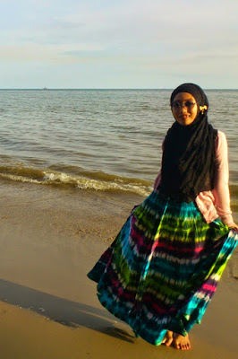 model hijab nike
